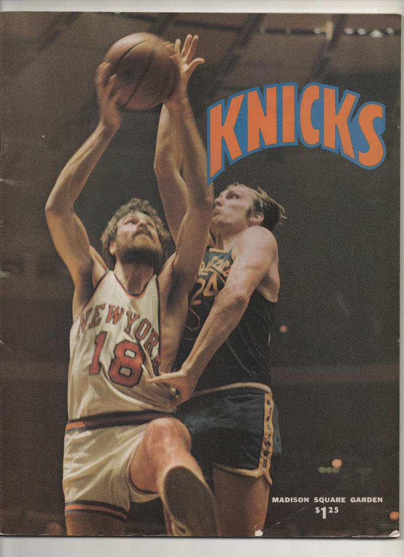 1975-76 Knicks Program Vol.9 No. 1 - From The Personal Collection of Kareem Abdul Jabbar