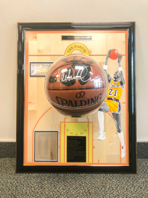 "Michael Cooper ""Lakers Floor Board"""