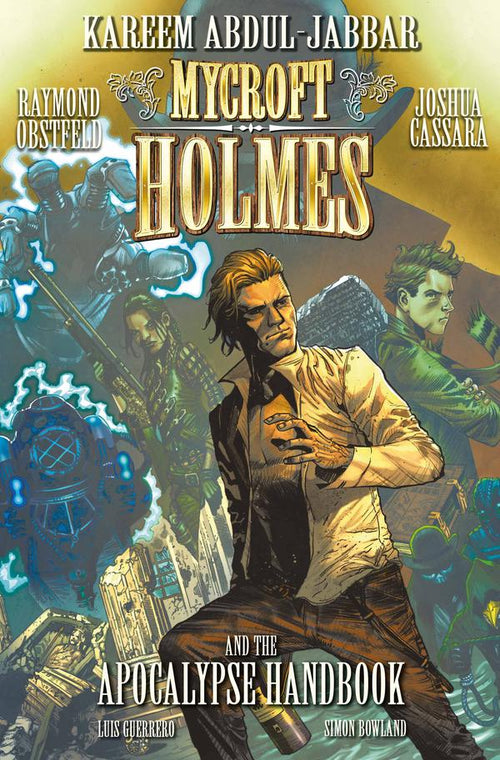 Mycroft Holmes and The Apocalypse Handbook - Comic Signed by Kareem Abdul Jabbar