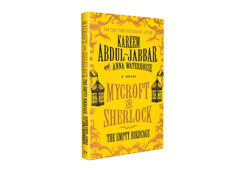 Mycroft & Sherlock: The Empty Birdcage - Book Signed by Kareem Abdul Jabbar