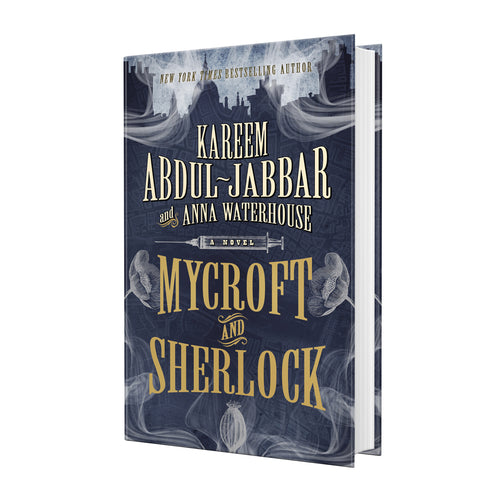 Mycroft and Sherlock (Hardcover) - Book Signed by Kareem Abdul Jabbar