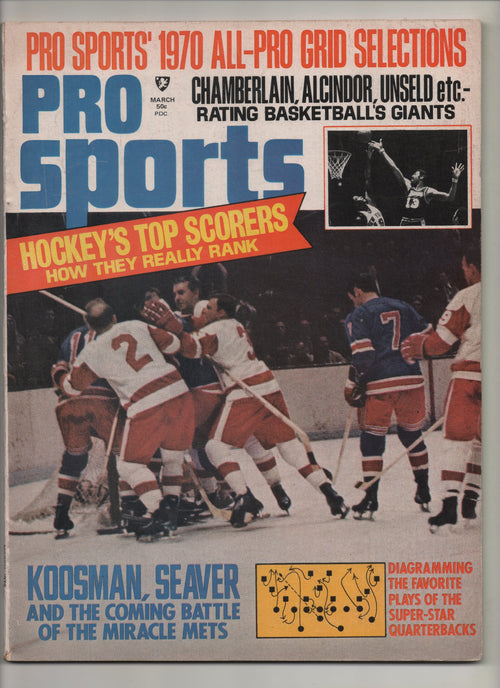 "1970 Pro Sports ""Chamberlain, Alcindor, Unseld etc.- Rating Basketball's Greats"" From The Personal Collection of Kareem Abdul Jabbar"