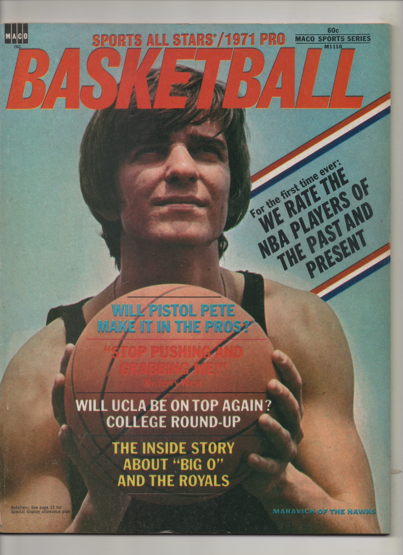 "1971 Sports All starts Pro Basketball ""Will UCLA Be On Top Again?"" From The Personal Collection of Kareem Abdul Jabbar"