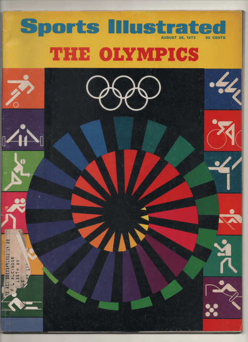 "1972 Sports Illustrated ""The Olympics"""