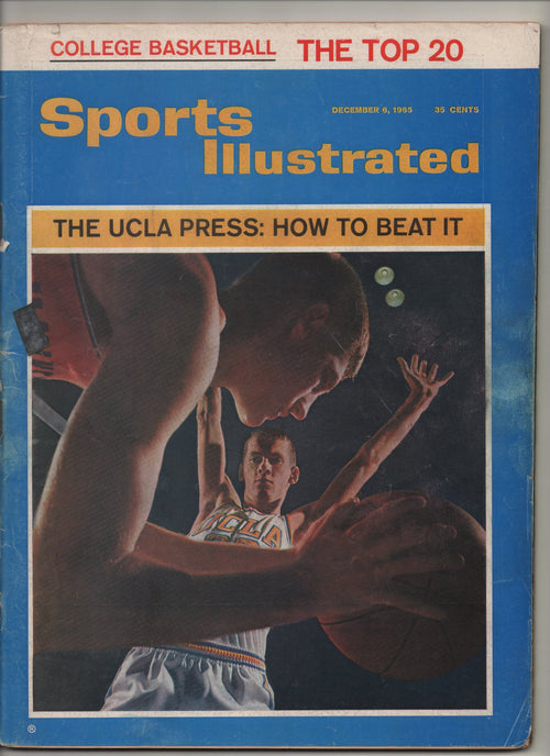 "1965 Sports Illustrated ""The UCLA Press:How To Beat It"" From The Personal Collection of Kareem Abdul Jabbar"