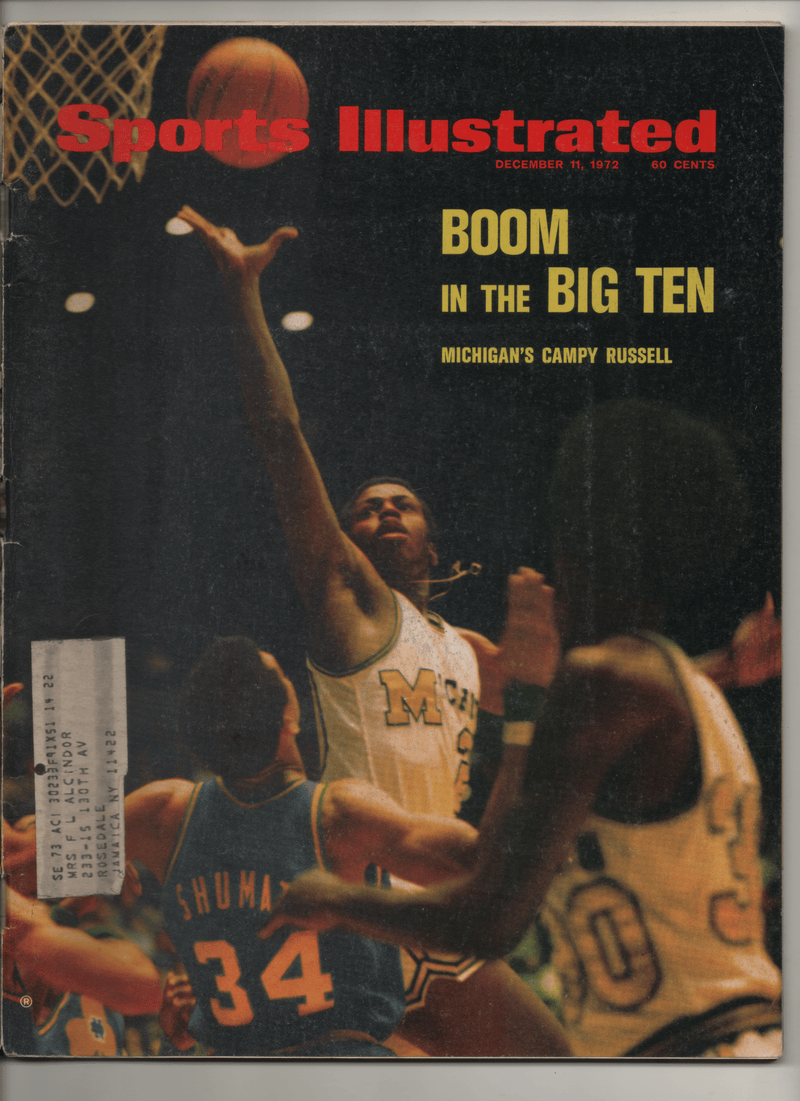 "1972 Sports Illustrated ""Boom In The Big Ten"""