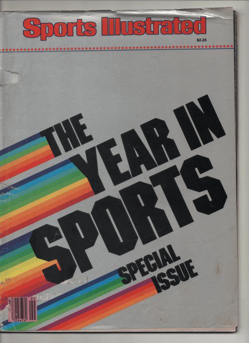 "1981 Sports Illustrated ""The Year In Sports Special Issue"""