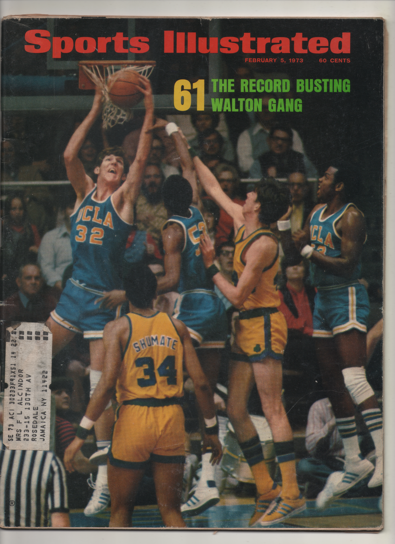 "1973 Sports Illustrated ""The Record Busting Walton Gang"" From The Personal Collection of Kareem Abdul Jabbar"