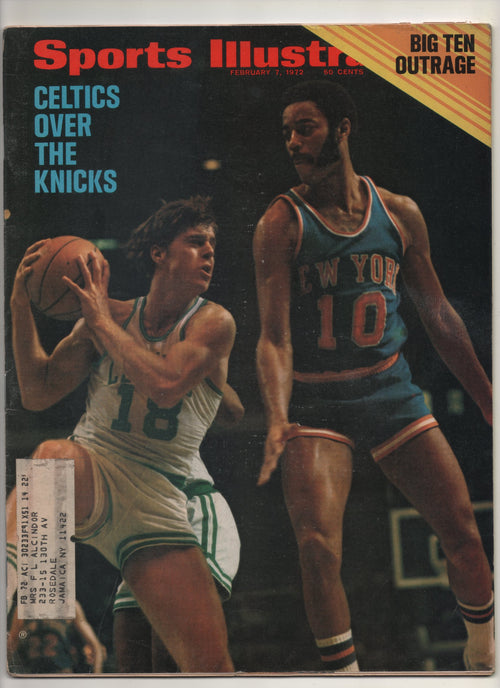 "1972 Sports Illustrated ""Celtics Over The Knicks"" From The Personal Collection of Kareem Abdul Jabbar"