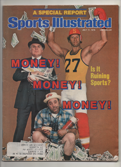 "1978 Sports Illustrated ""Money Money Money"" From The Personal Collection of Kareem Abdul Jabbar"