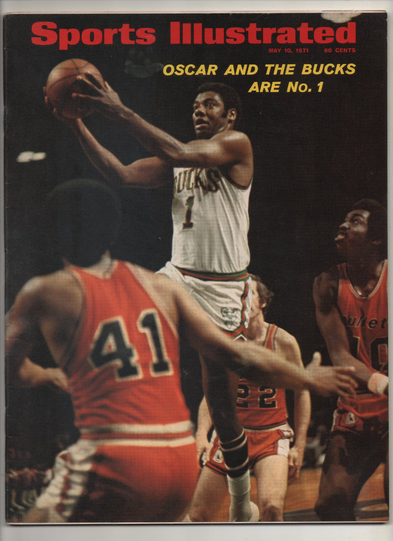 "1971 Sports Illustrated ""Oscar And The Bucks Are No.1"" From The Personal Collection of Kareem Abdul Jabbar"