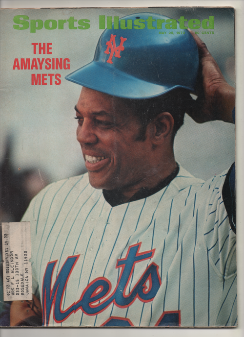 "1972 Sports Illustrated ""The Amaysing Mets"" From The Personal Collection of Kareem Abdul Jabbar"