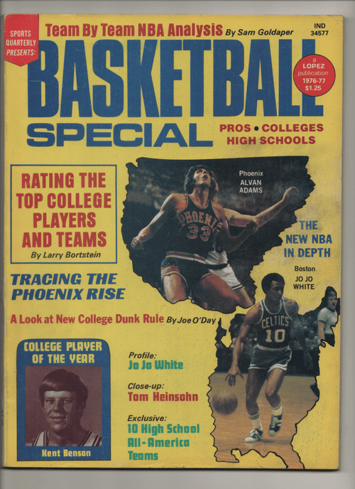 1976-77 Sports Quarterly Presents Basketball Special - Pros/Colleges/High Schools