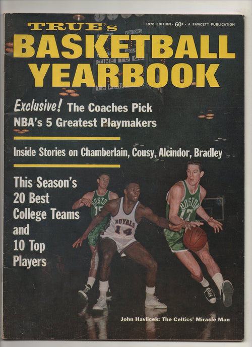"1970 True's Basketball Yearbook ""Inside Stories On Chamberlain, Cousy, Alcindor, Bradley"" From The Collection of Kareem Abdul Jabbar"