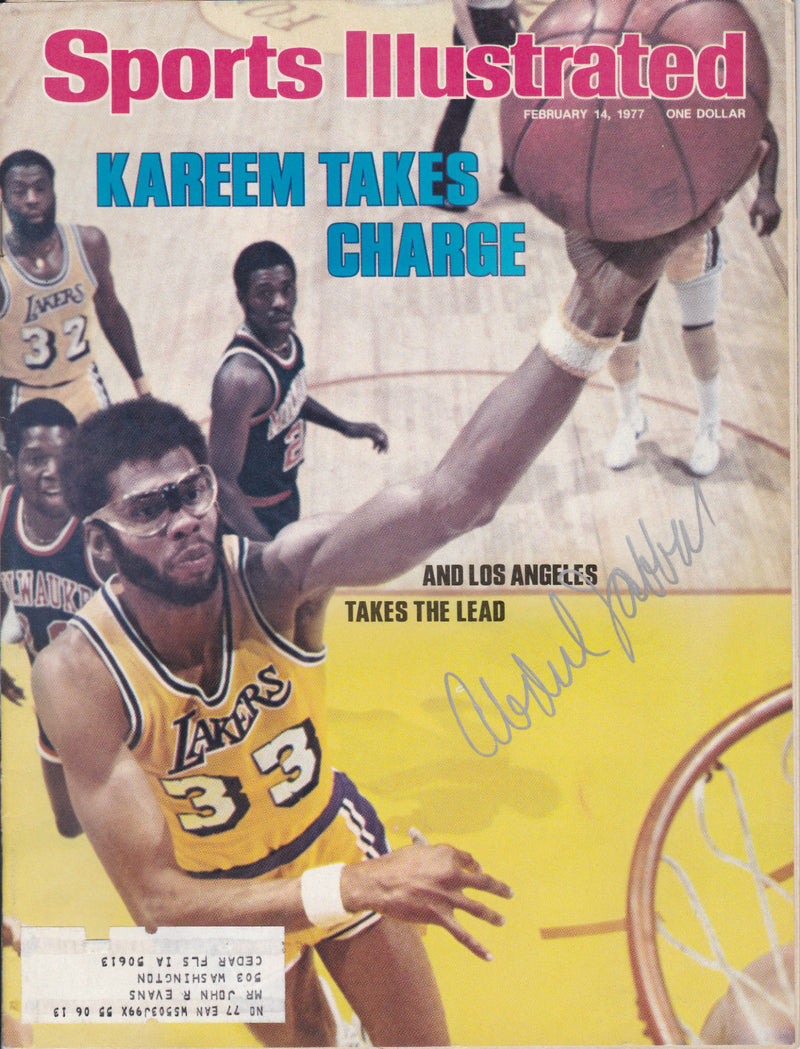 "1977 Sports Illustrated Magazine: ""Kareem Takes Charge"""