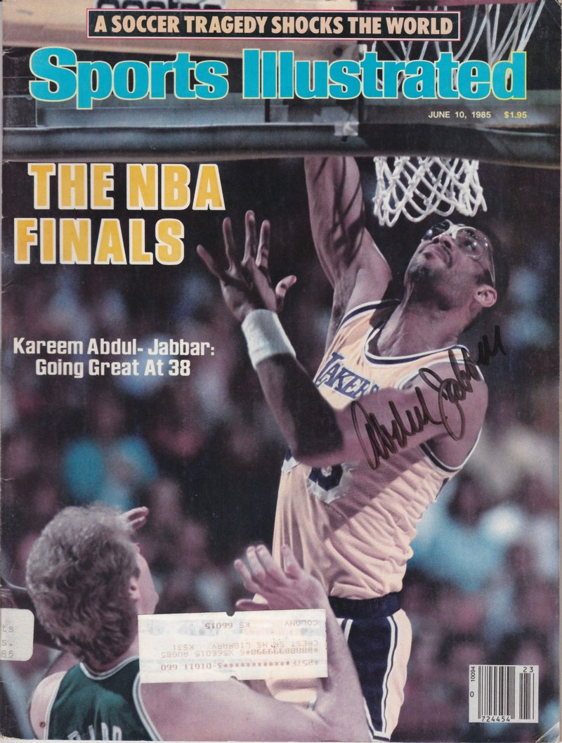 "1985 Sports Illustrated Magazine: ""The NBA Finals"""