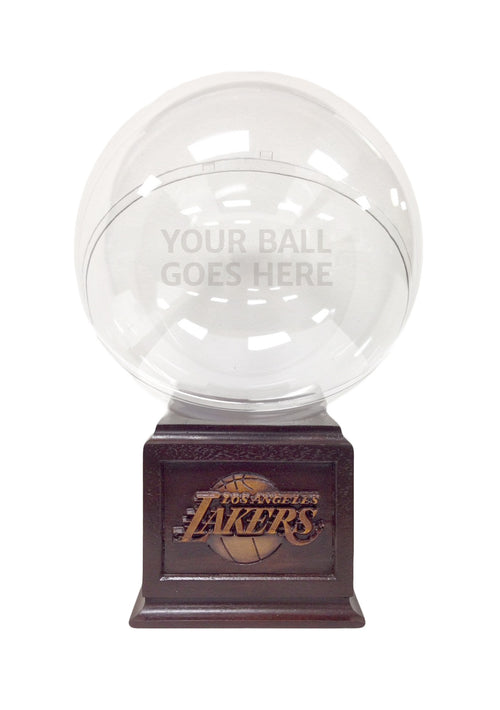 LA Lakers Basketball Display case