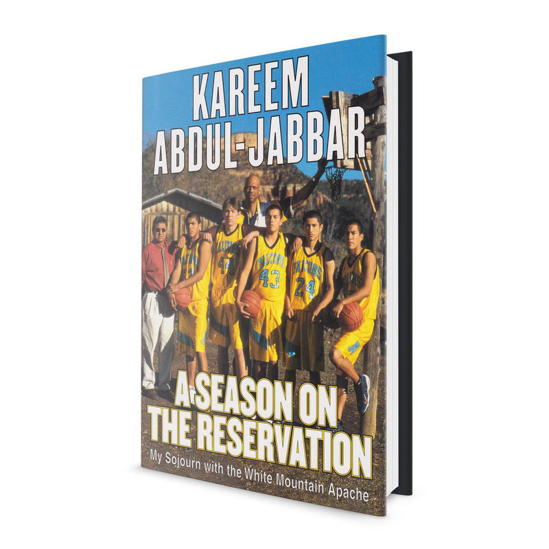 A Season on the Reservation - Book Signed by Kareem Abdul Jabbar