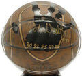 "Kareem Abdul-Jabbar  Hall Of Fame Legends Ball (inscribed ""80', 82', 85', 87', 88'"")"