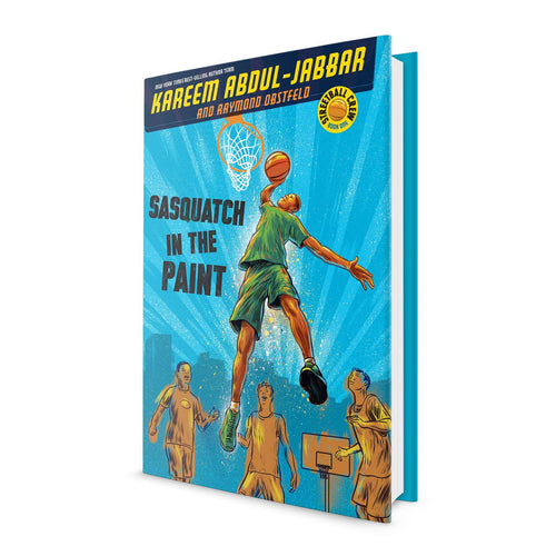 Sasquatch in the Paint - Book Signed by Kareem Abdul Jabbar