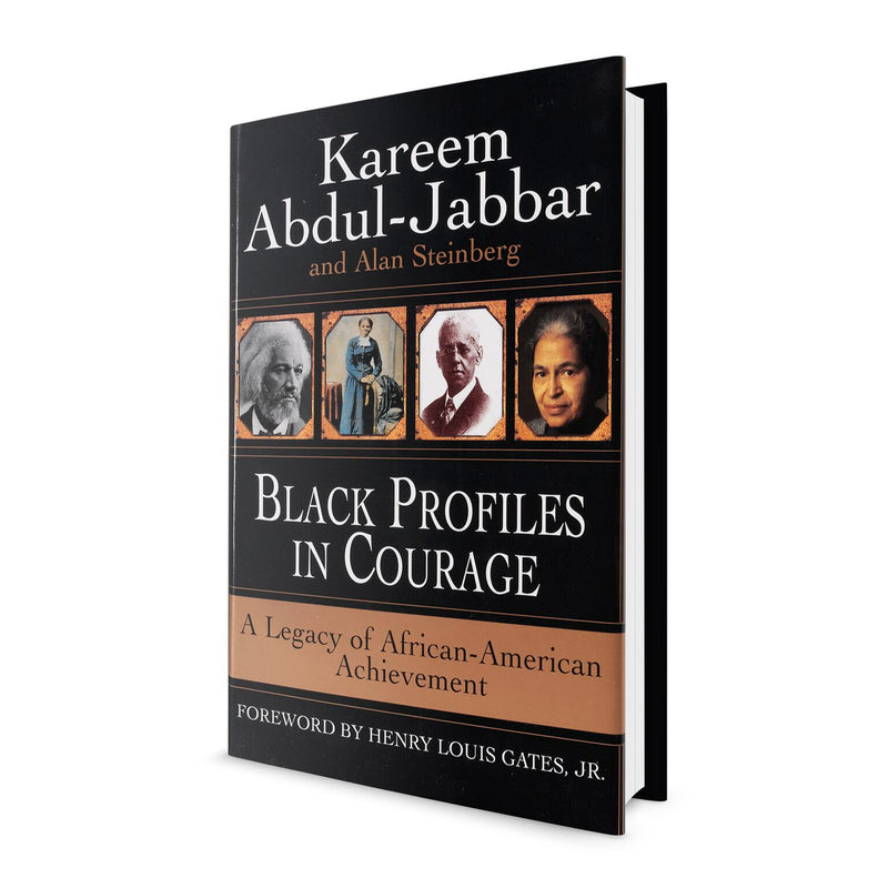 Black Profiles in Courage (Hardcover) - Book Signed by Kareem Abdul Jabbar
