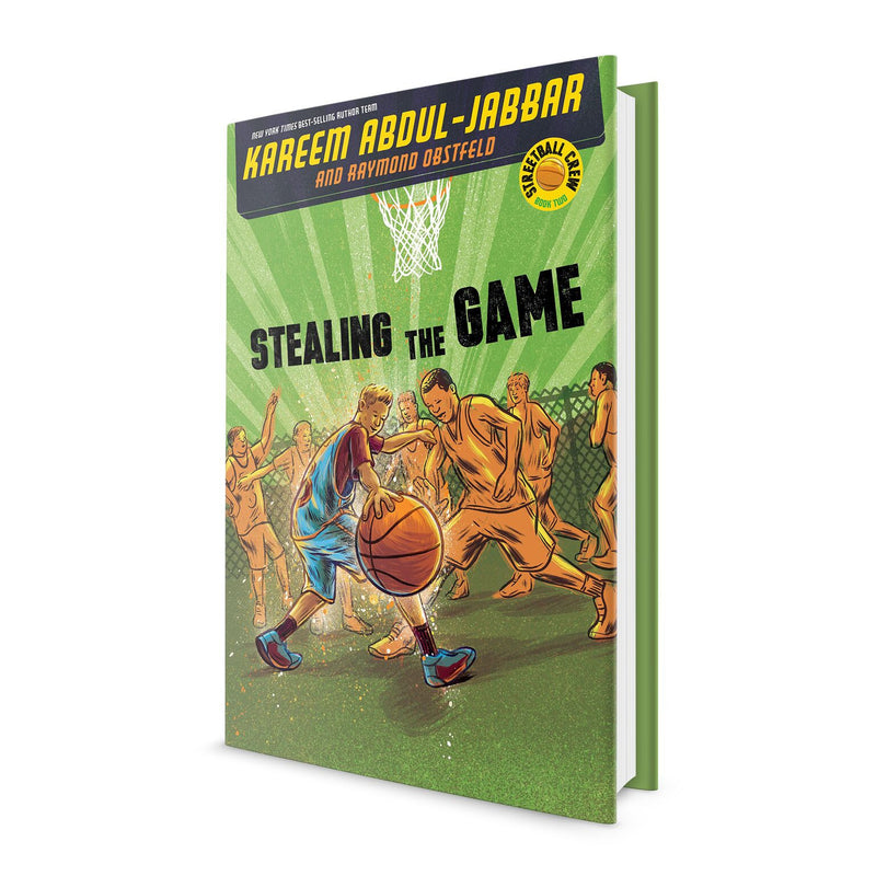 Stealing the Game - Book Signed by Kareem Abdul Jabbar