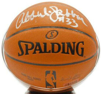 Kareem Abdul Jabbar Signed Basketball - NBA Ball