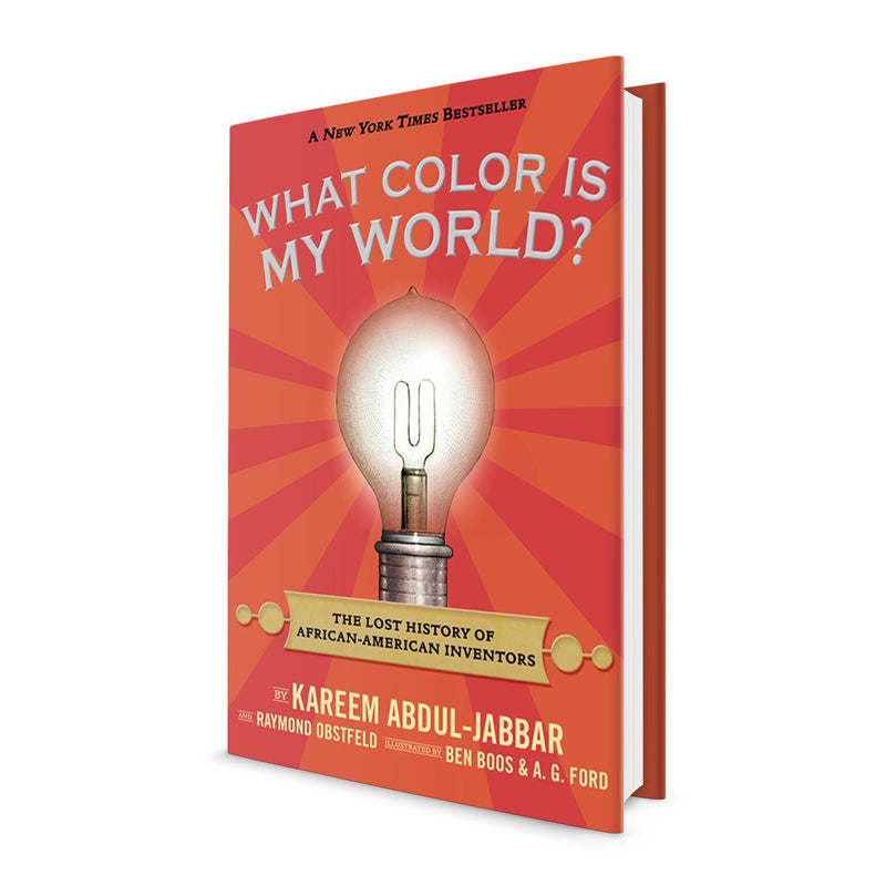 What Color Is My World? - Signed by Kareem Abdul Jabbar