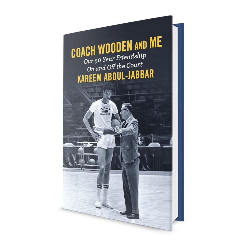 Coach Wooden and Me - Signed by Kareem Abdul Jabbar