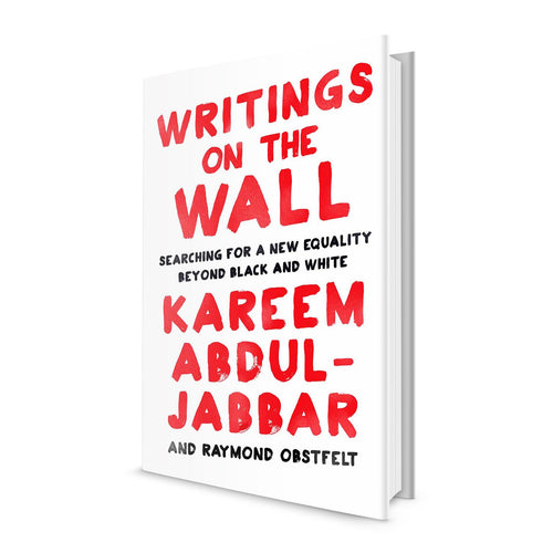 Writings On The Wall - Book Signed by Kareem Abdul Jabbar