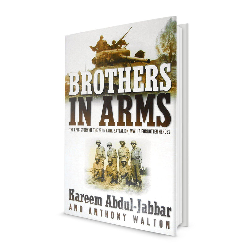 Brothers in Arms - Book Signed by Kareem Abdul Jabbar