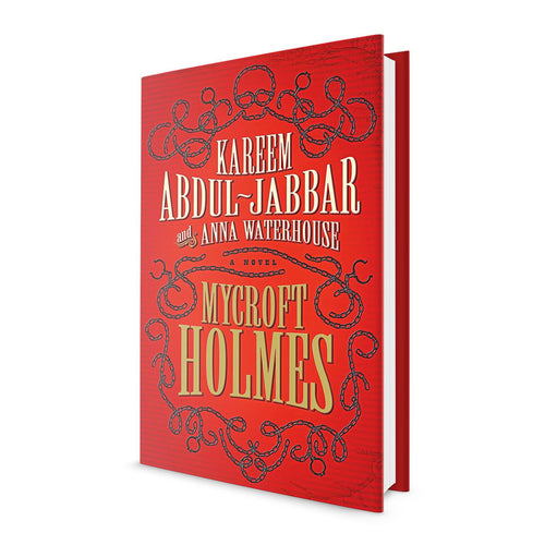 Mycroft Holmes - Book Signed by Kareem Abdul Jabbar