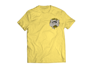Checkerboard Elephant SHORT SLEEVE (Yellow)