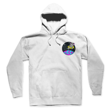 Space Elephant 90s HOODIE (White)