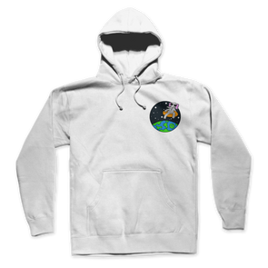 Space Elephant HOODIE (White)