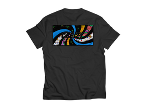 Contemporary Spiral SHORT SLEEVE (Black)