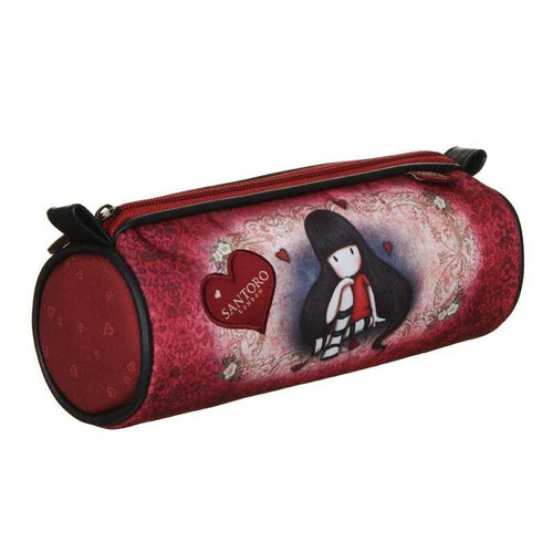 Gorjuss Round Pencil Case - The Collector