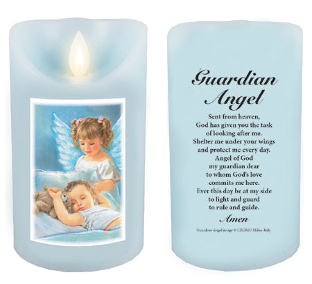 LED Candle/Scented Wax/Timer/G.Angel Boy