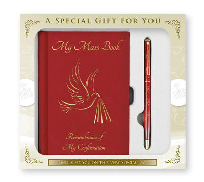 Confirmation Gift Set/Symbolic Book & Pen