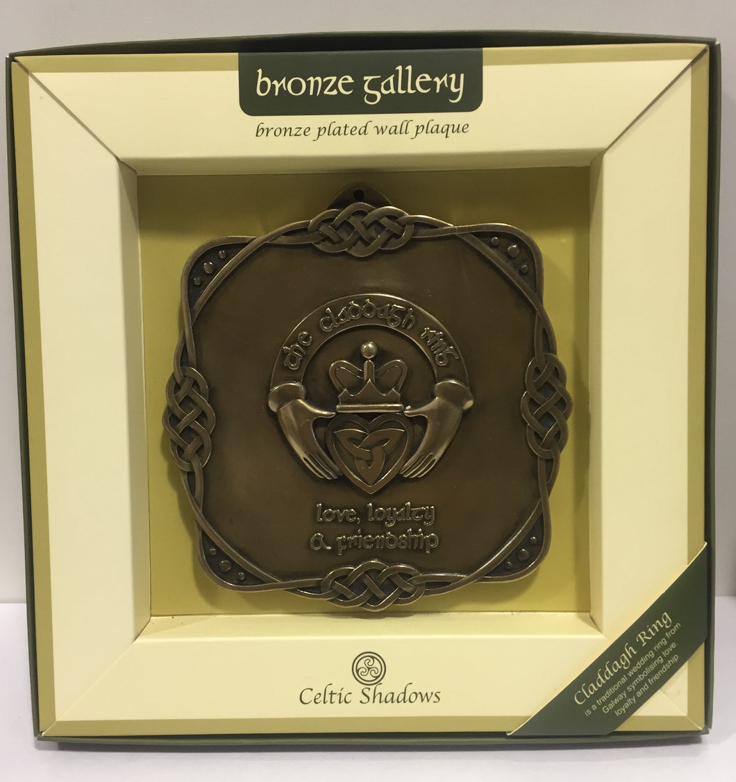 Claddagh Ring Plaque by Celtic Shadows