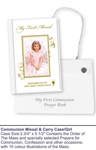 Communion Missal & Carry Case (Girl)