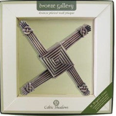 Celtic Shadows St Brigids Cross Plaque
