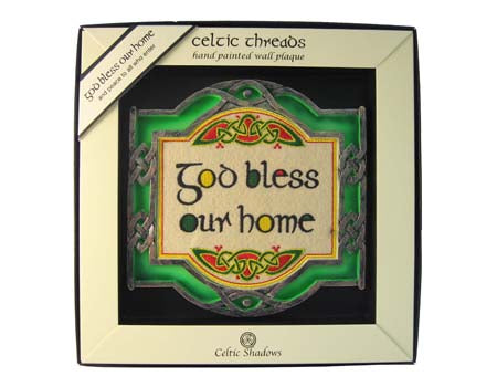 God Bless Our Home Wall Plaque
