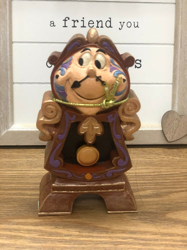 "Disney Tradition "" Cogsworth Keeping Watch"""