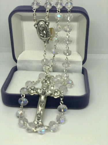 Rosary Beads Clear