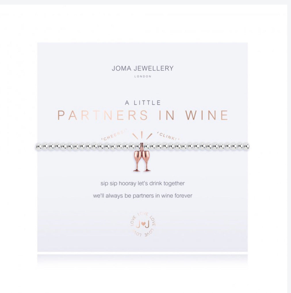 "Joma Bracelet ""Partners in Wine"""