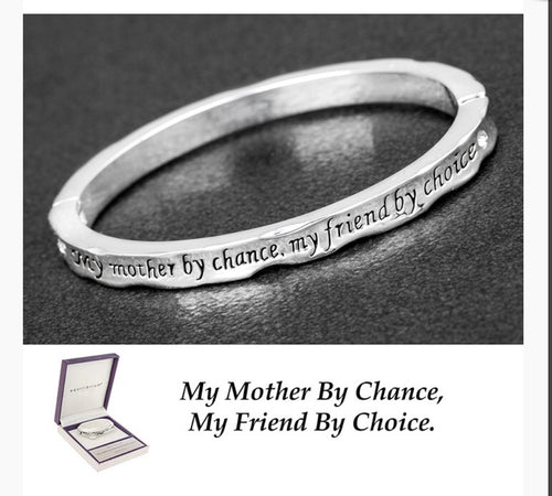 Equilibrium Hinged Bangle Mum Chance