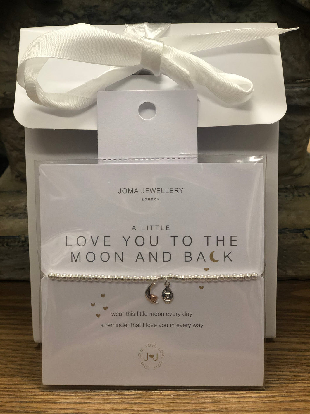 A LITTLE LOVE YOU TO THE MOON AND BACK BRACELET