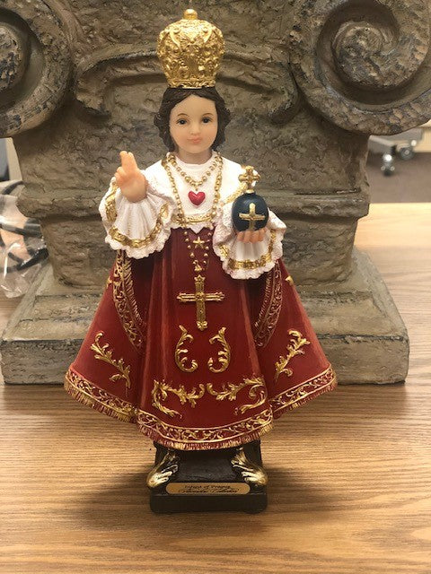 Infant of Prague statue 8inch