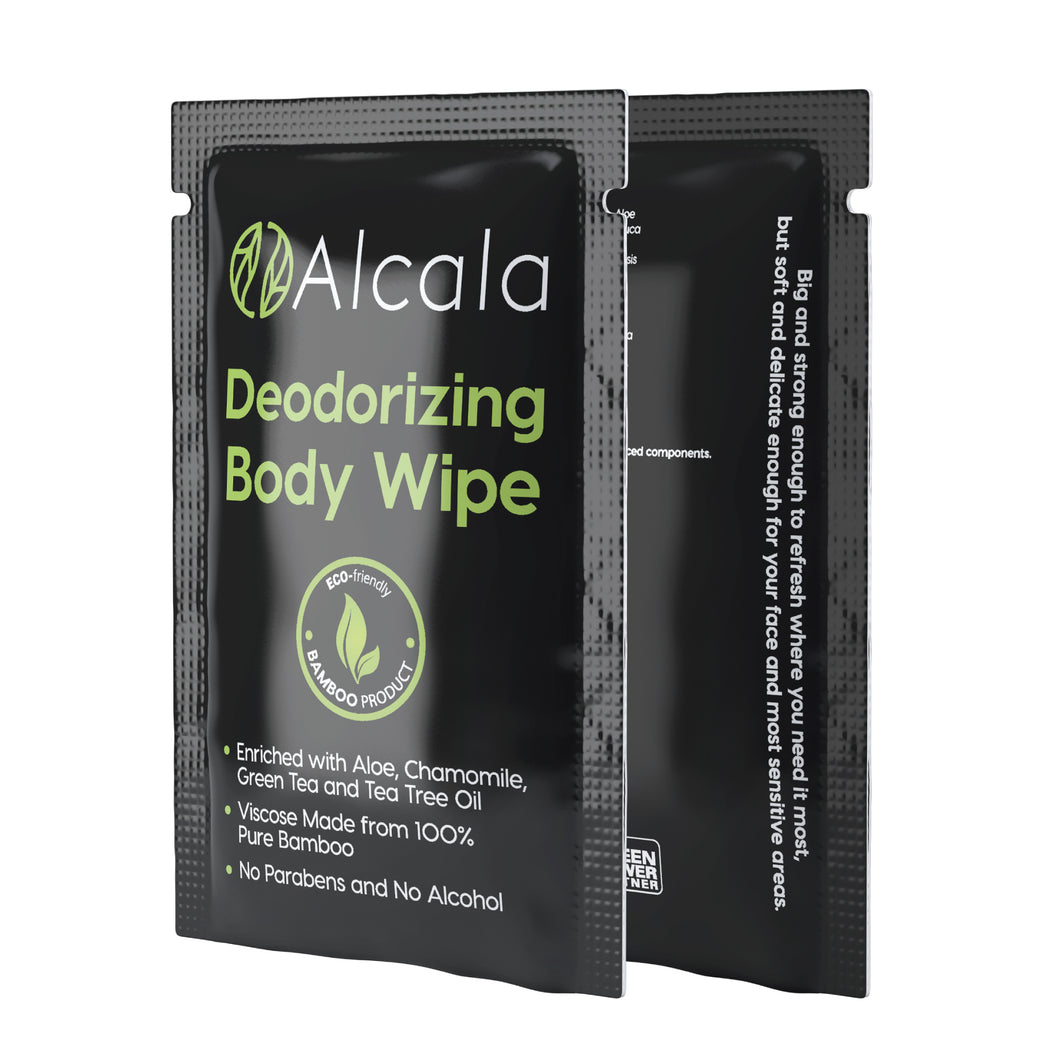 Alcala Deodorizing Body Wipes (30 Count)